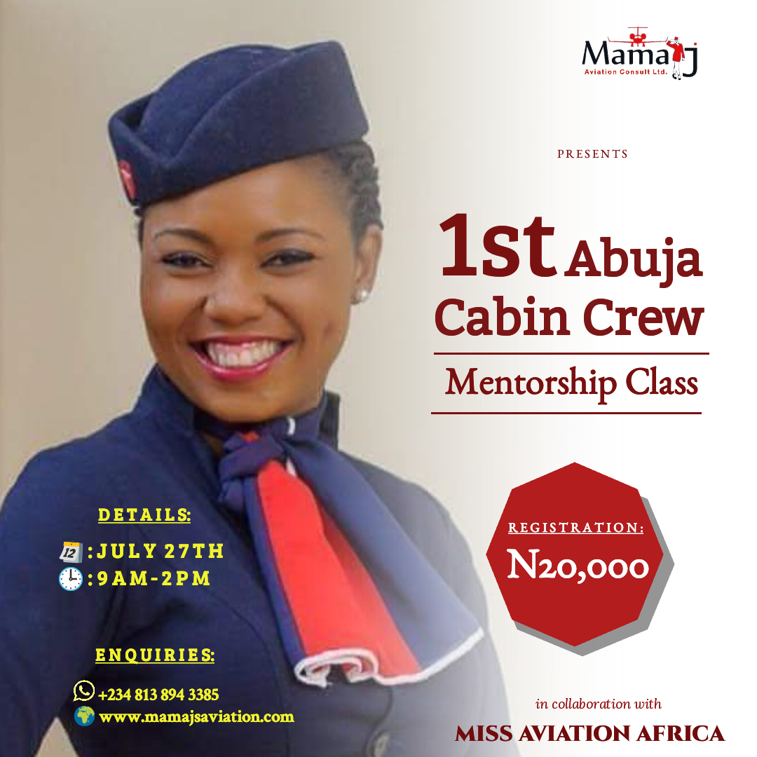 MamaJ Aviation Consult Hosts First Cabin Crew Mentorship Class in Abuja
