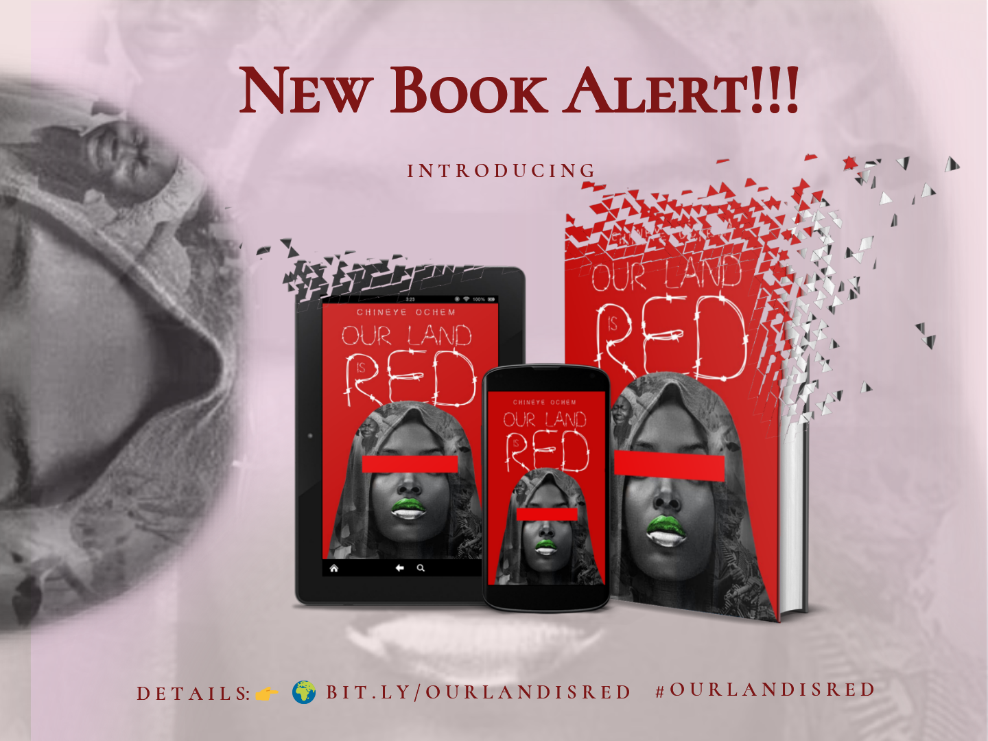 New Book Alert: Introducing Our Land Is RED by Chineye Oyem