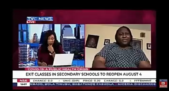 [VIDEO] Exit Classes in Secondary schools to resume on 4th August. Are we set for this? – Taiwo Alalade on TVC News